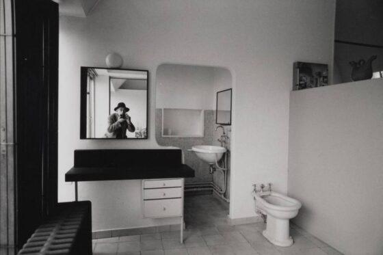 René Burri, Autoportrait dans le miroir