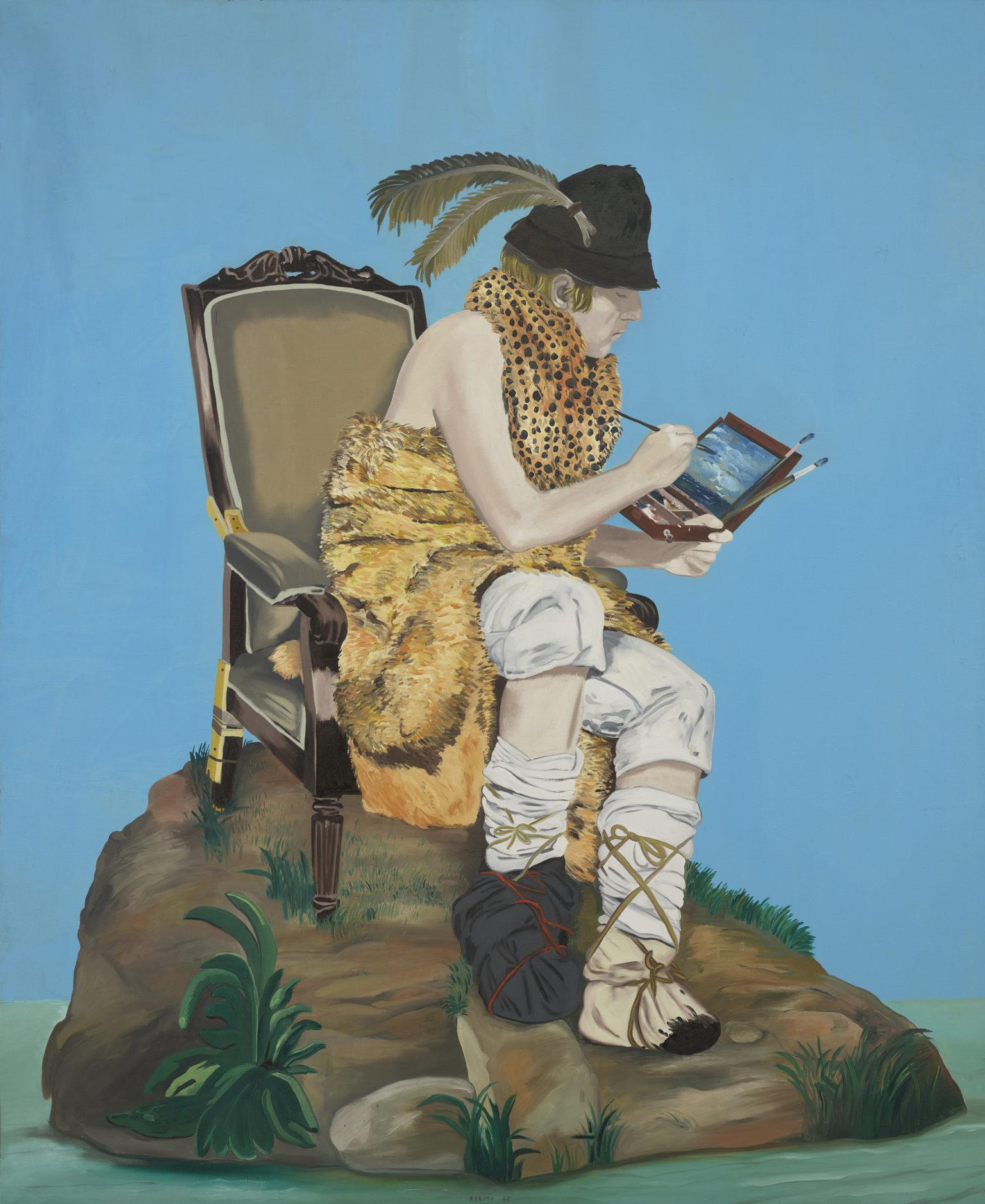 """Eduardo Arroyo, """"Robinson Crusoé"""""""