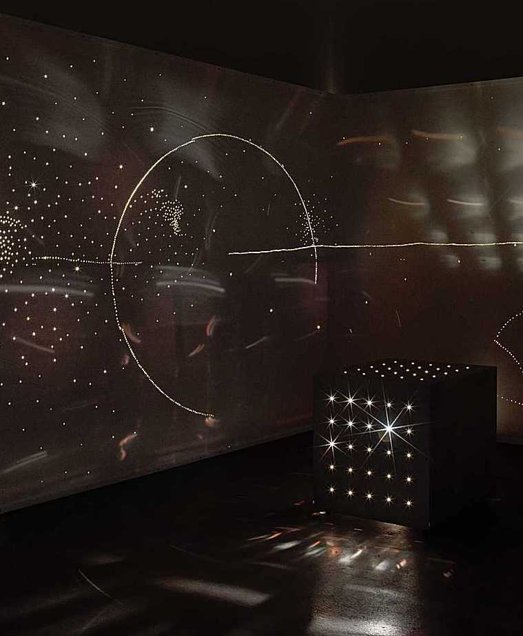 Lichtballett-Bild von Otto Piene