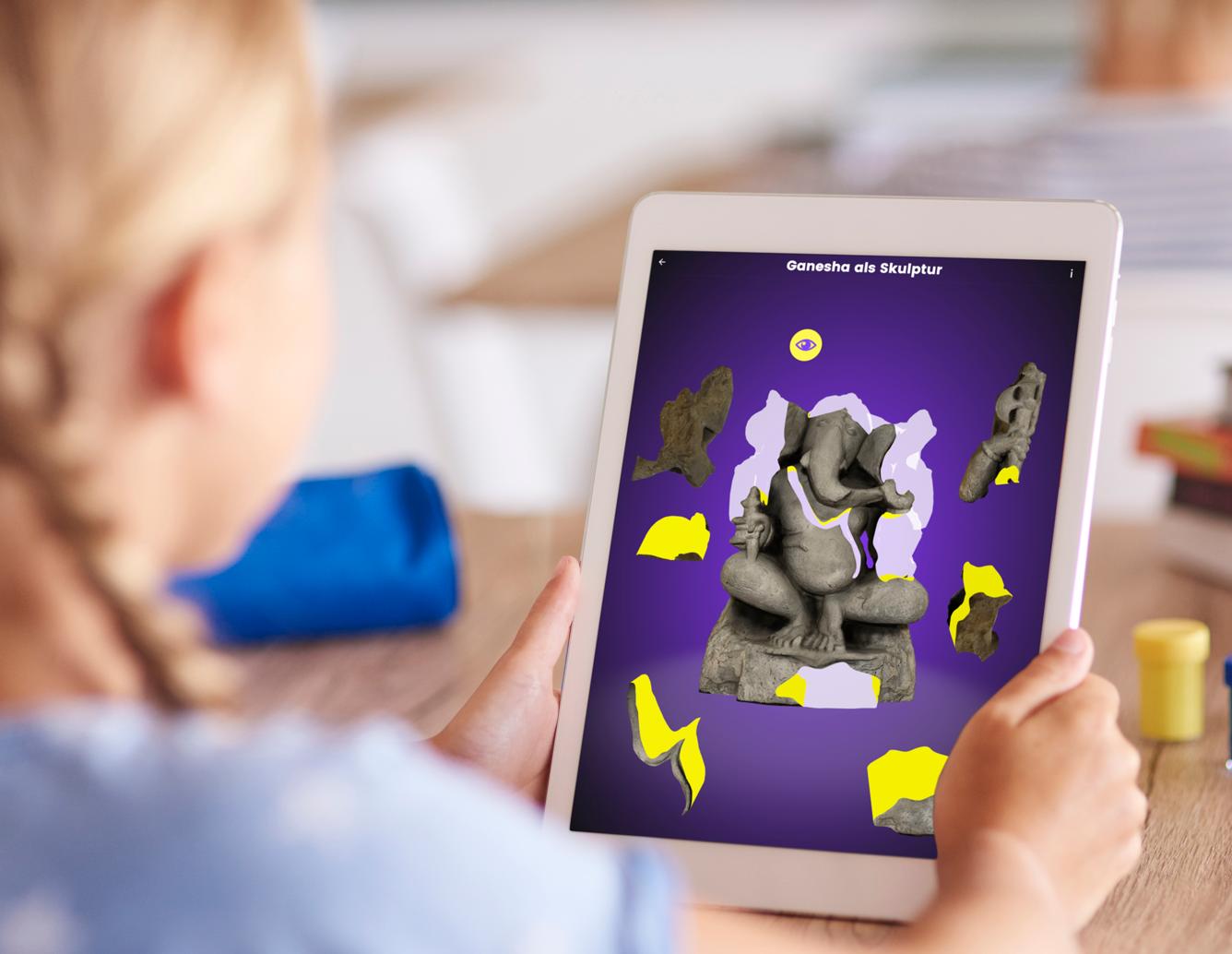 Themenbild Kunst-Spiel-App